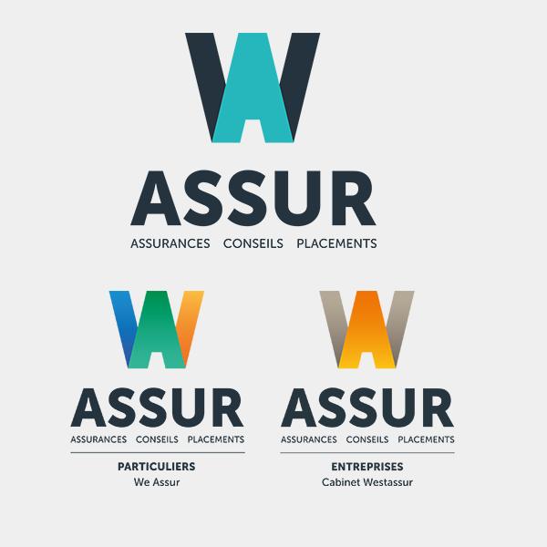 Nouveau Logo W Assur agent MMA et courtier en assurance