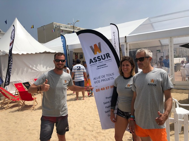 Week-end au Pornichet Paddle Trophy pour W Assur !