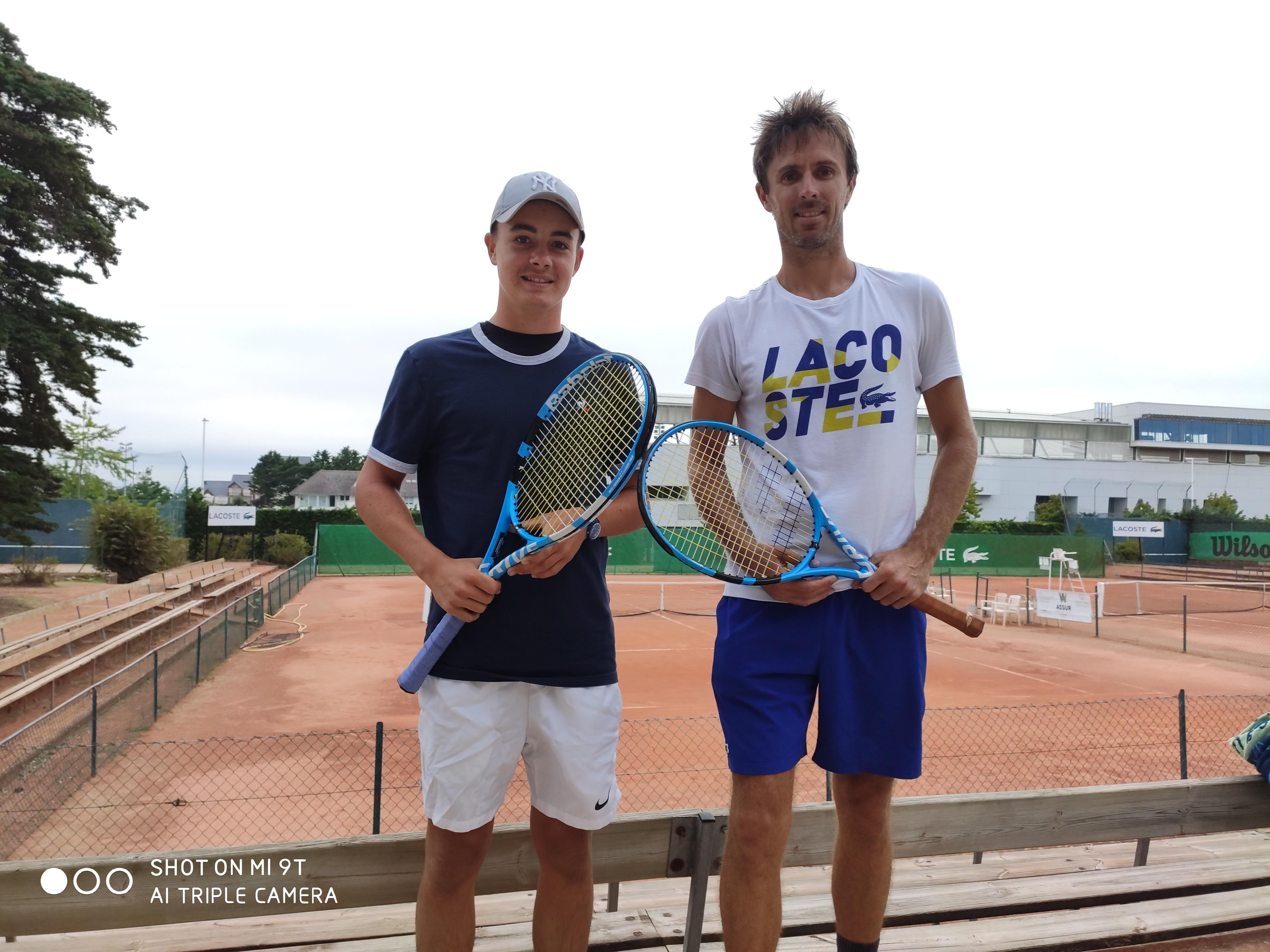 Benjamin Martin au Tennis Country Club Barrière La Baule du 3 au 11 août