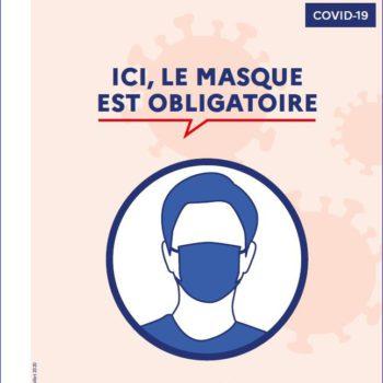 2020-08-20 Masque en entreprise obligatoire
