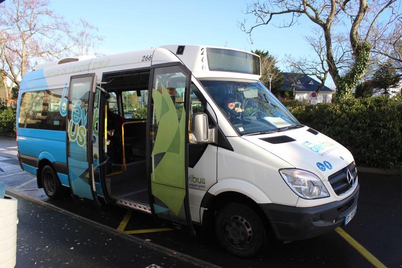 Juillet 2021 : nouveaux circuits de bus gratuit à Saint-Brevin